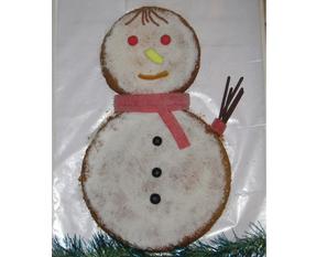 la recette du gâteau bonhomme de neige au chocolat idkids