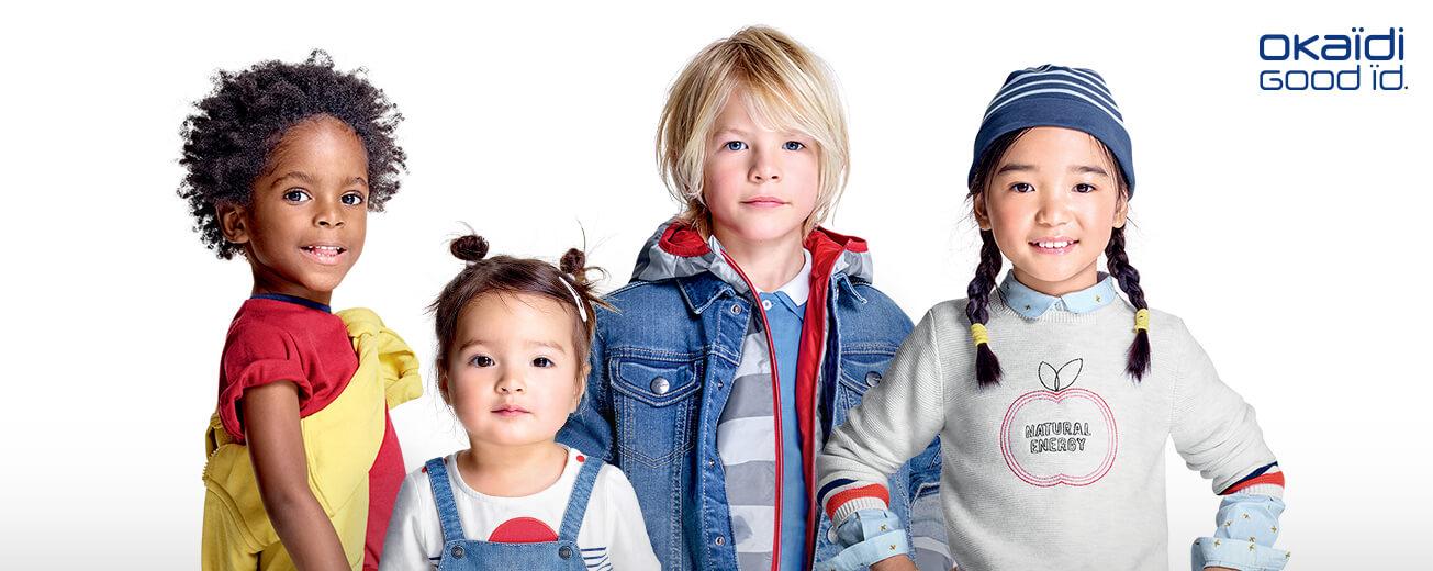 Soldes vêtements enfant Okaïdi
