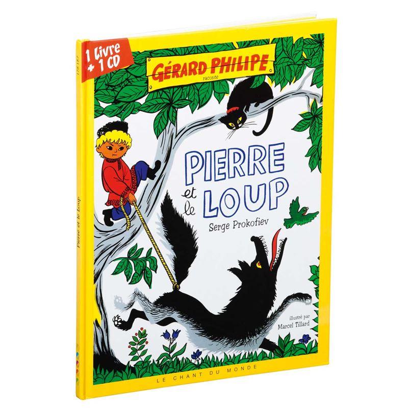 Image sur Livre-CD Pierre et le loup