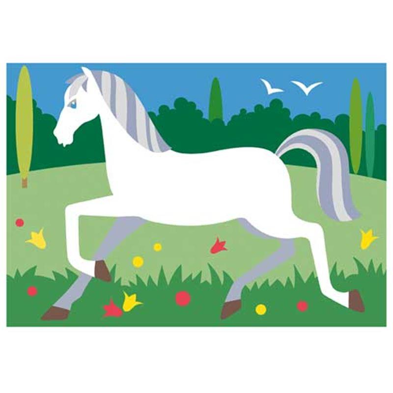 Image sur Sablimage Les chevaux