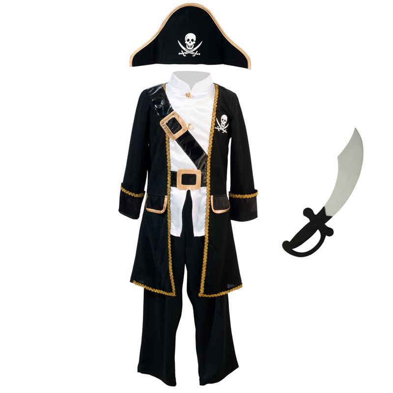 Image sur Déguisement Pirate 3-5 ans