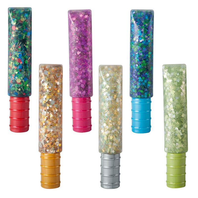 Image sur 6 tubes de colle confettis