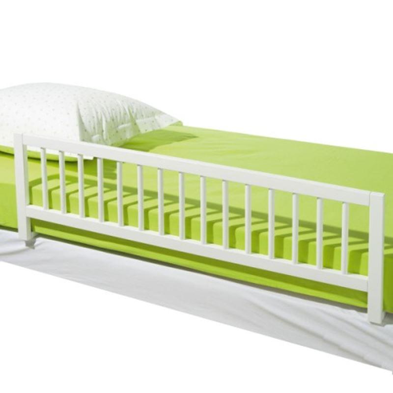 Image sur Barrière de lit blanche