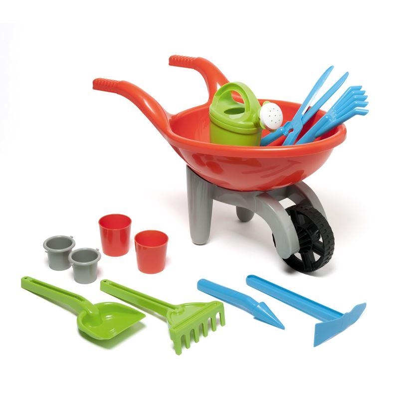 Brouette de jardinage et ses accessoires - 15.99€ - Oxybul