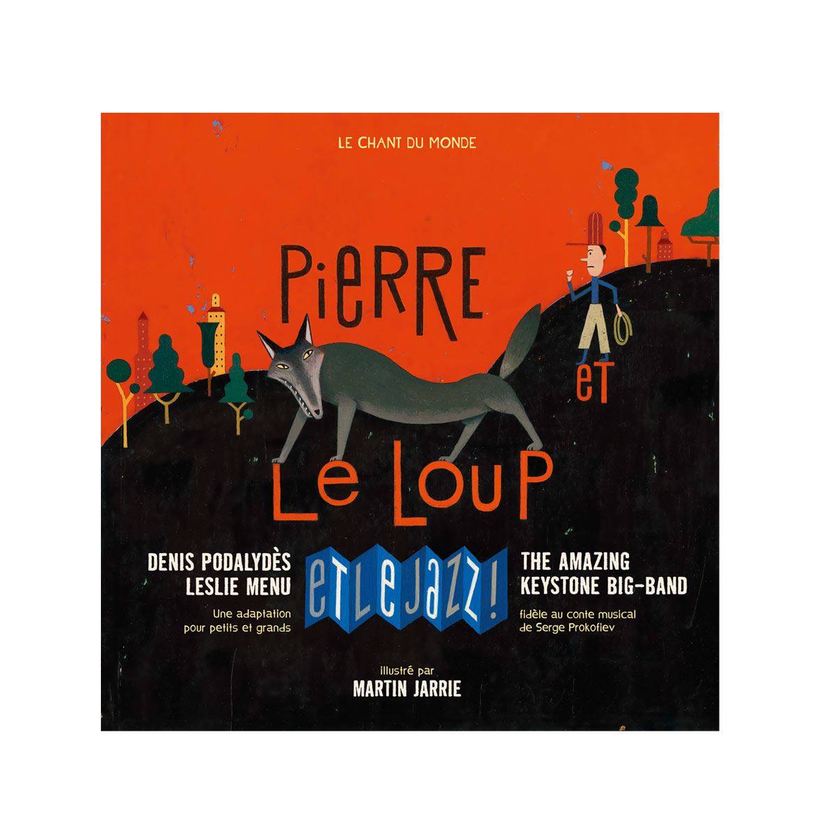 Image sur Livre-CD Pierre et le loup et le jazz