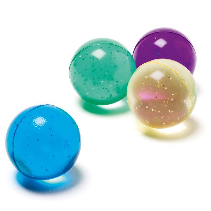 Image sur 12 balles rebondissantes