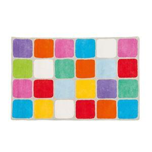 Image de Tapis carrés multicolore