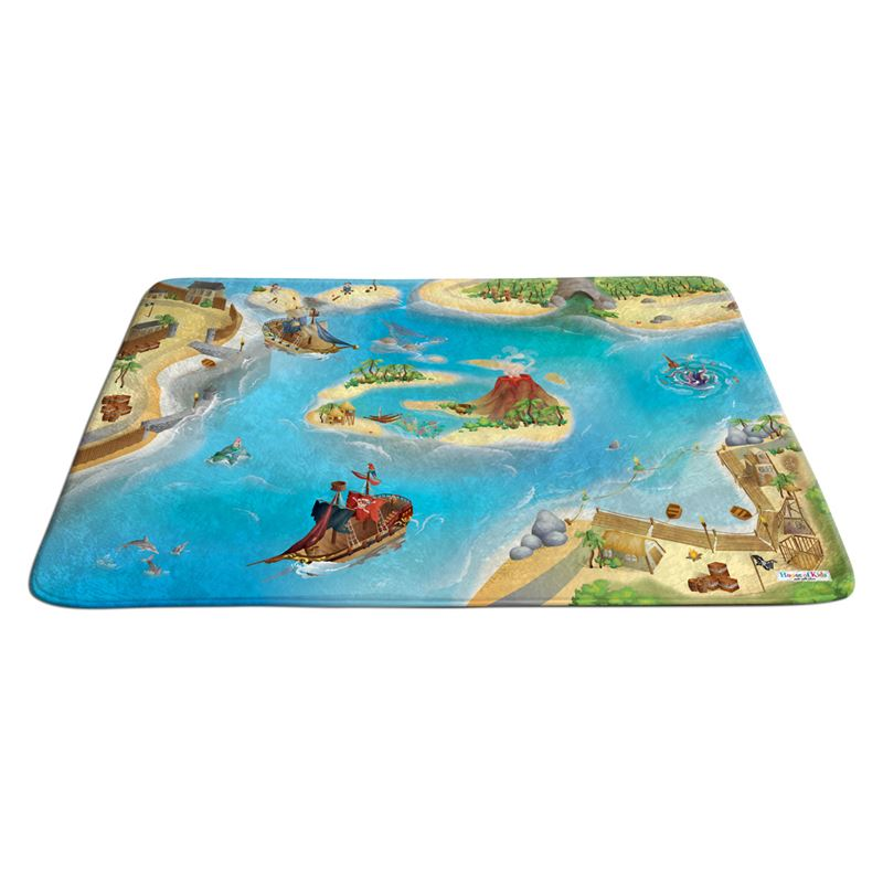 Image sur Grand tapis ultra soft pirates