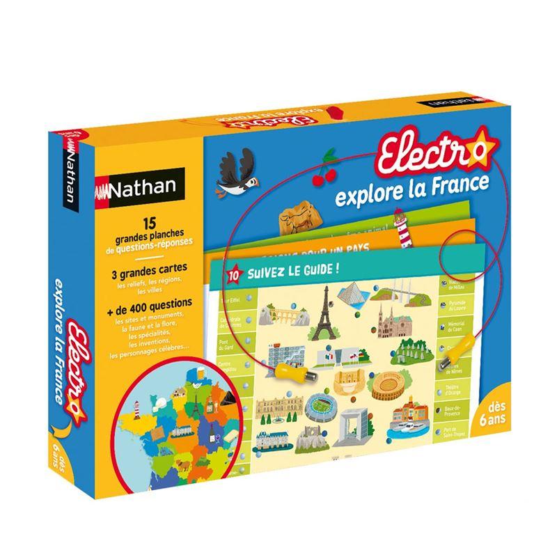 Image sur Jeu interactif Electro Explore la France