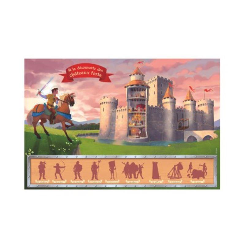 Image sur Coffret A la découverte des châteaux forts