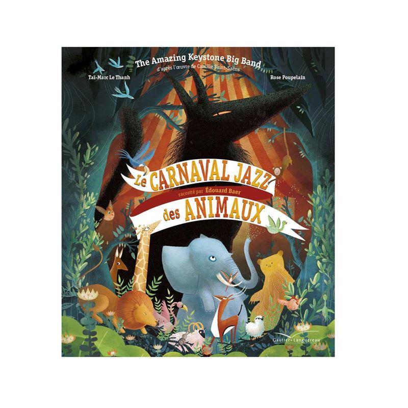 Image sur Livre-CD Le carnaval Jazz des animaux