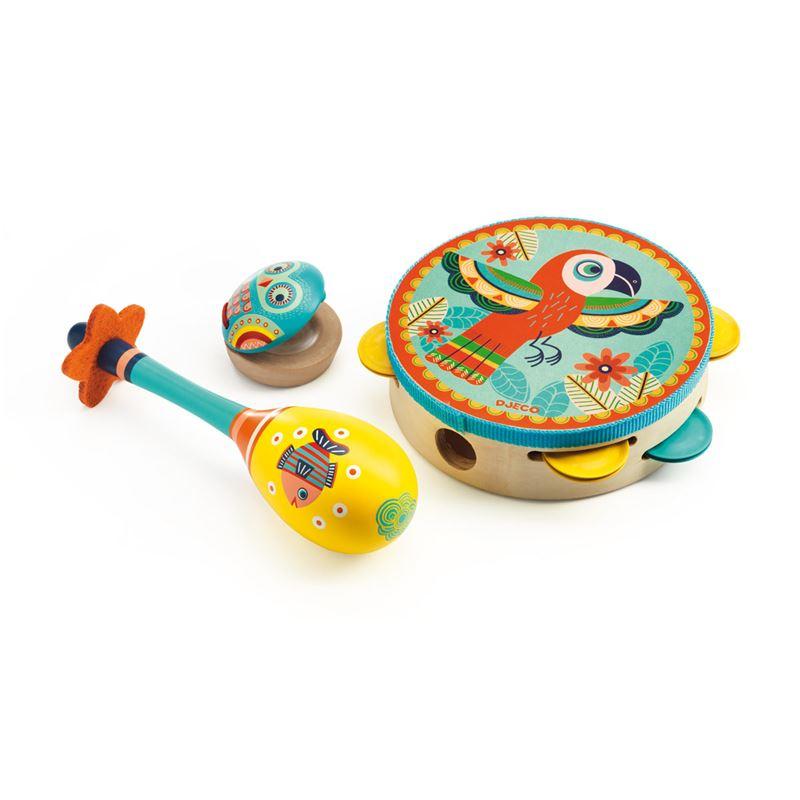 Image sur Set 3 instruments de musique Animambo
